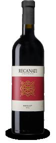 בקבוק יין אדום- רקנאטי מרלו מסדרת גליל עליון