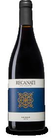 בקבוק יין אדום- רקנאטי שיראז מסדרת גליל עליון